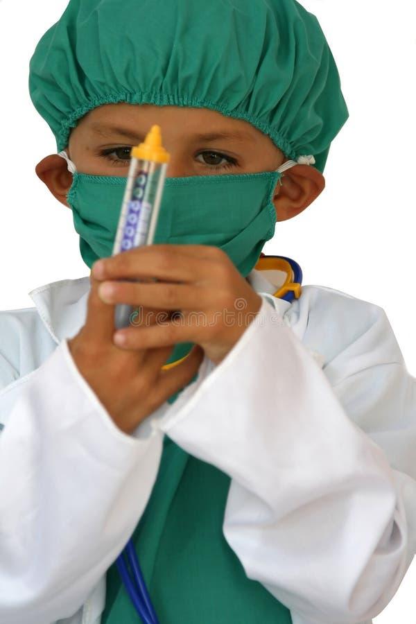 Chirurgo del bambino immagini stock