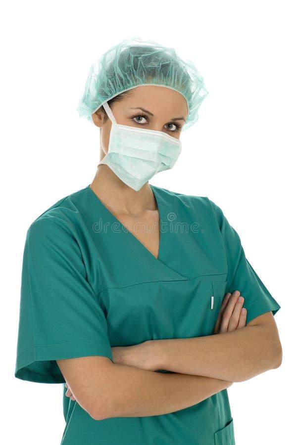 Chirurgo femminile immagini stock