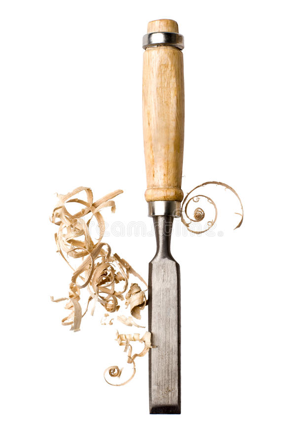 Chisel royalty free stock images