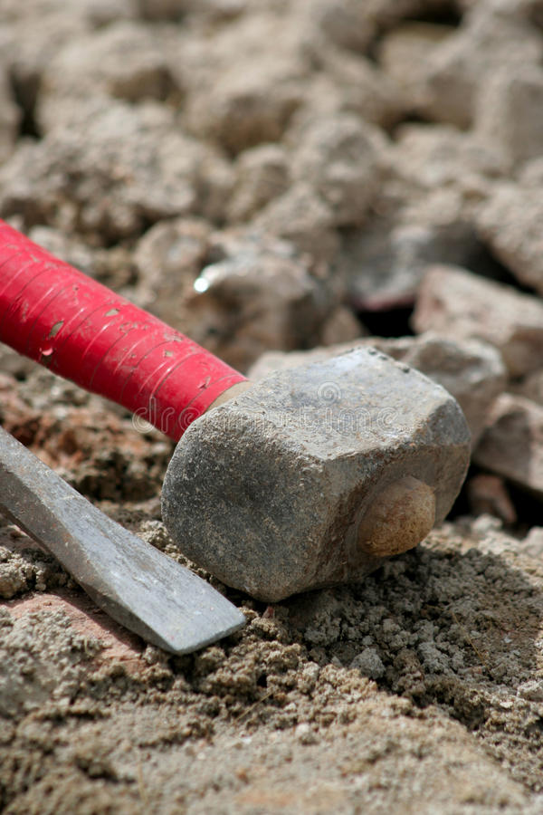 Free Chisel And Hammer Stock Photography - 13095302