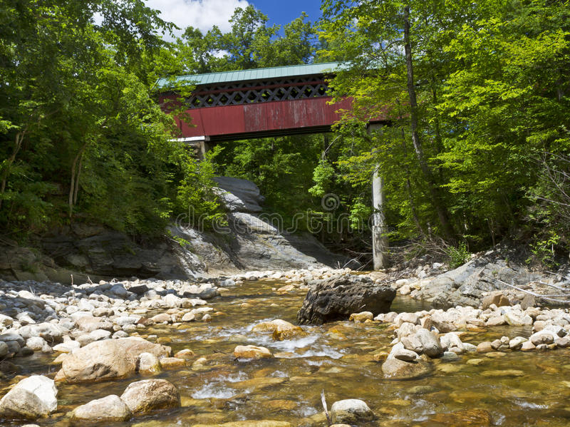 Chiselville Covered Bridge stock photos