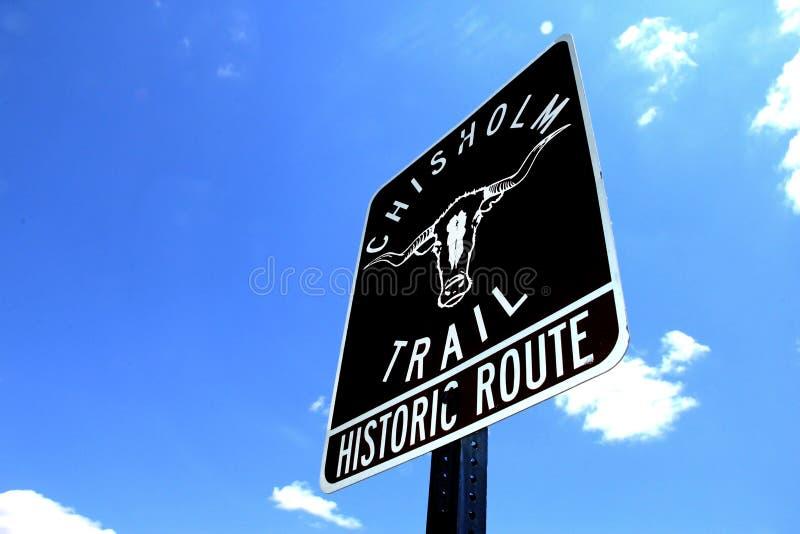 Download Chisholm Trail Sign stock photo. Image of kansas, 1800s - 19547118