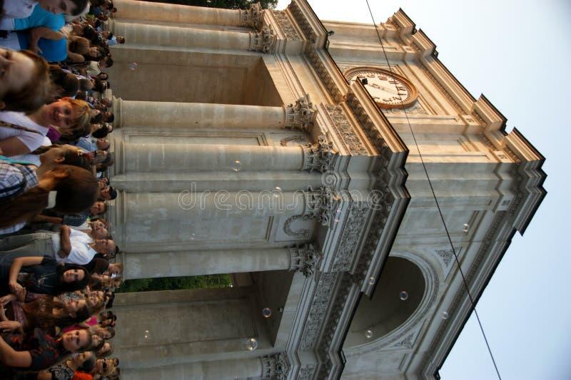Chisinau el 31 de agosto de 2011 imágenes de archivo libres de regalías