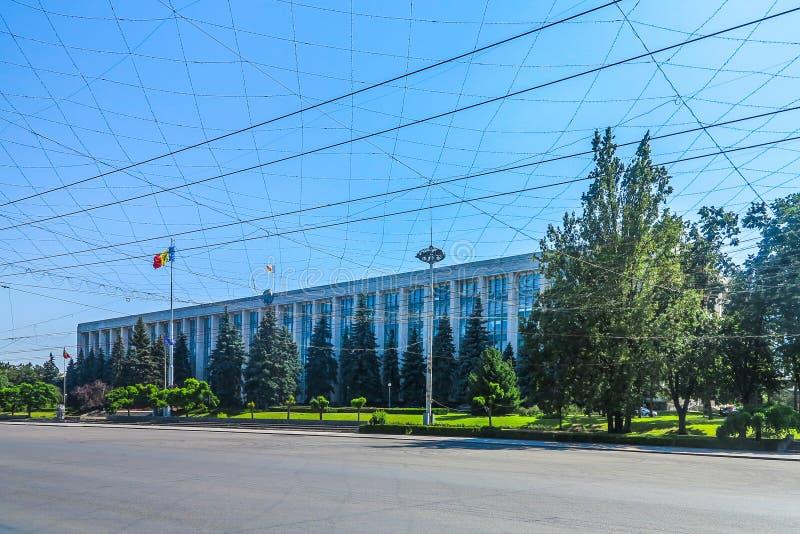Chisinau enhetsfyrkant 09 royaltyfria foton