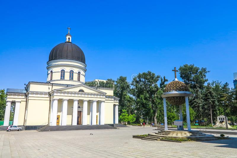 Chisinau enhetsfyrkant 06 arkivfoto