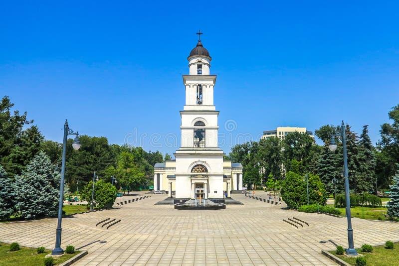 Chisinau enhetsfyrkant 05 arkivfoton