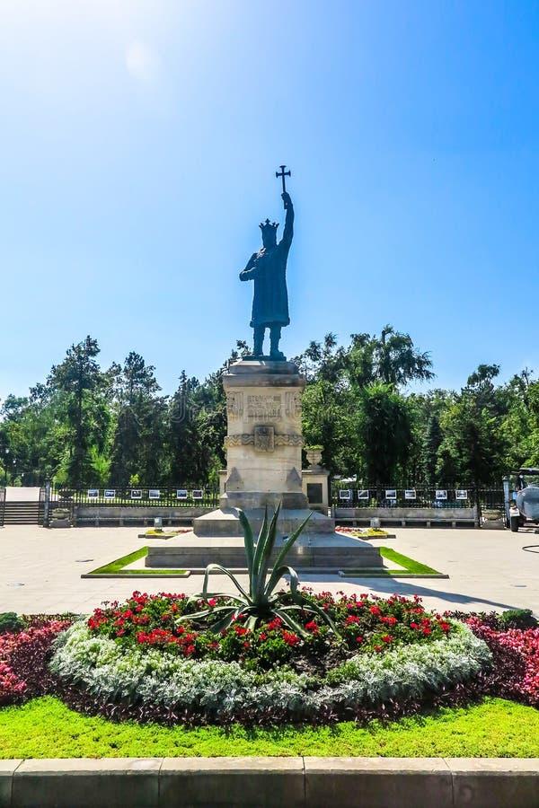 Chisinau enhetsfyrkant 07 arkivbild