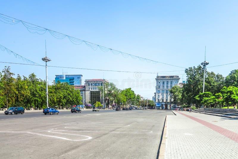 Chisinau enhetsfyrkant 04 arkivfoto