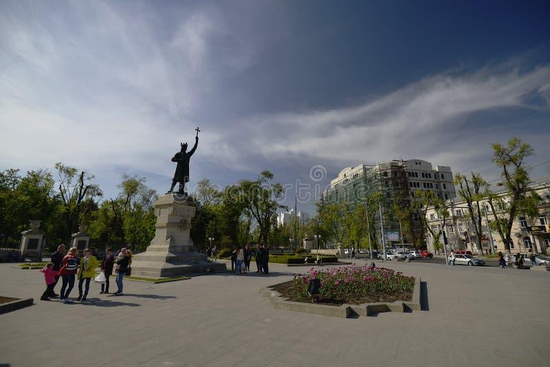 Chisinau est la capitale et la plus grande ville de Moldau images stock