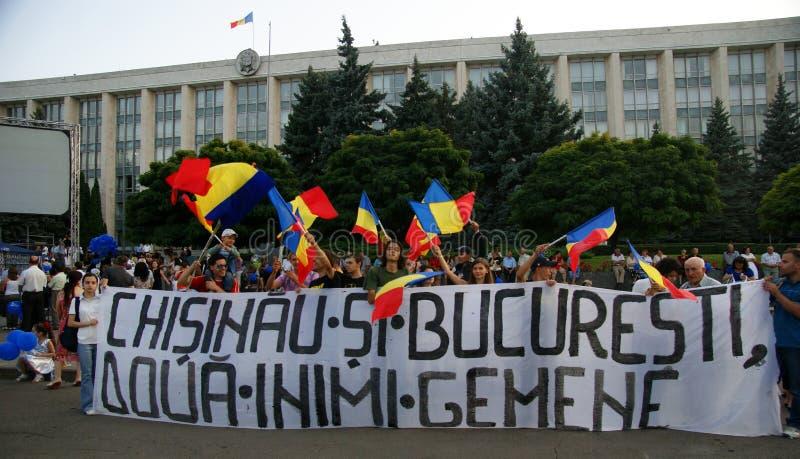 Chisinau le 31 août 2011 photos stock