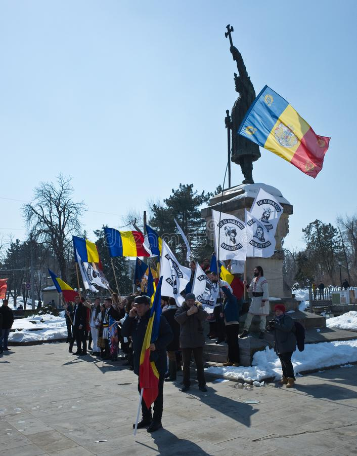 Chisinau, Republic of Moldova, March, 25th, 2018, Great Centenary Assembly stock photo