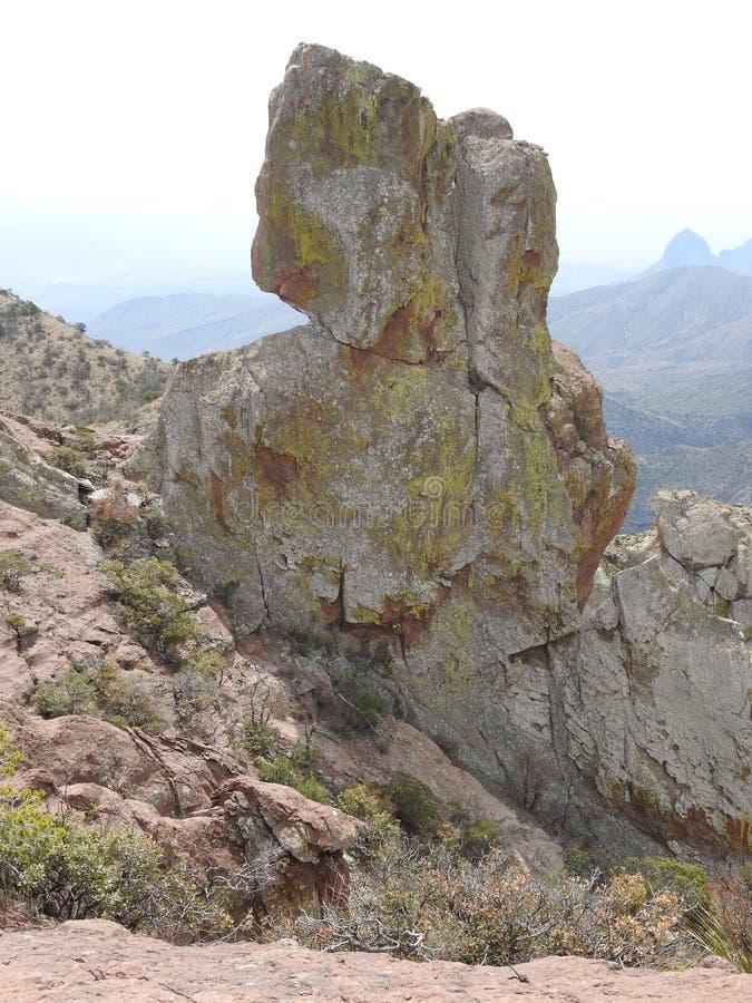 Chisos Mountains, Big Bend National Park. Chisos Mountains on the Lost Mine Trail in Big Bend National Park, Texas stock photos