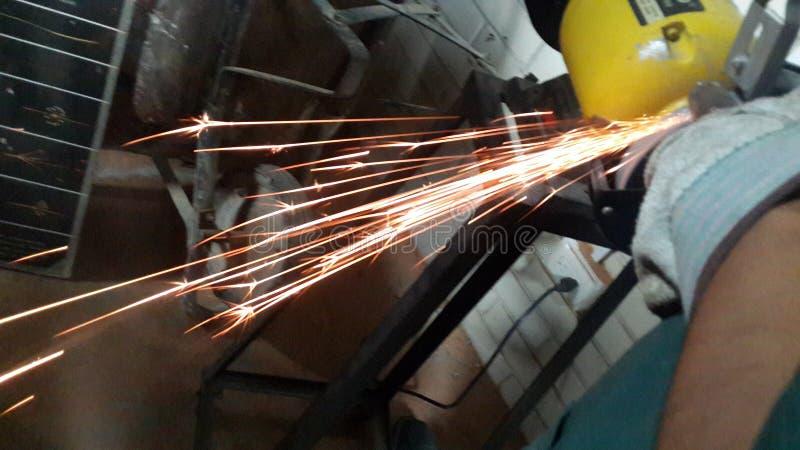 Chispa engineering machine royalty free stock images
