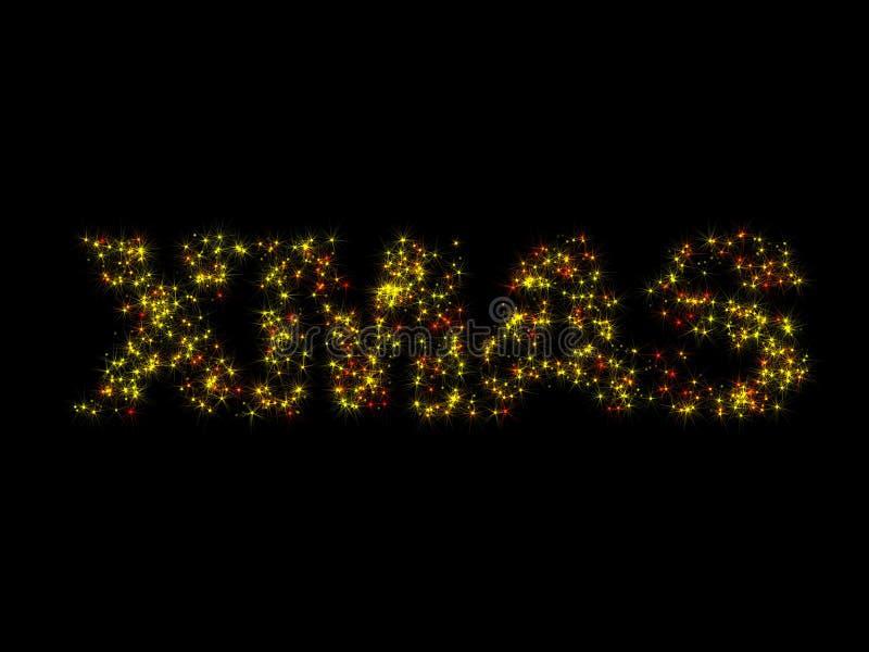 Download Chispas de Navidad stock de ilustración. Ilustración de brillo - 7277051