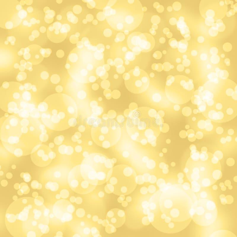 Chispas, luz en fondo amarillo imagen de archivo