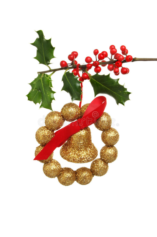 Download Chistmas Decoration And Holly Stock Image - Image: 21815223