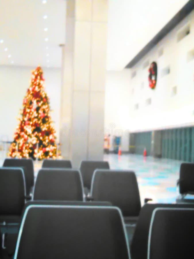 Chistmas do aeroporto imagens de stock