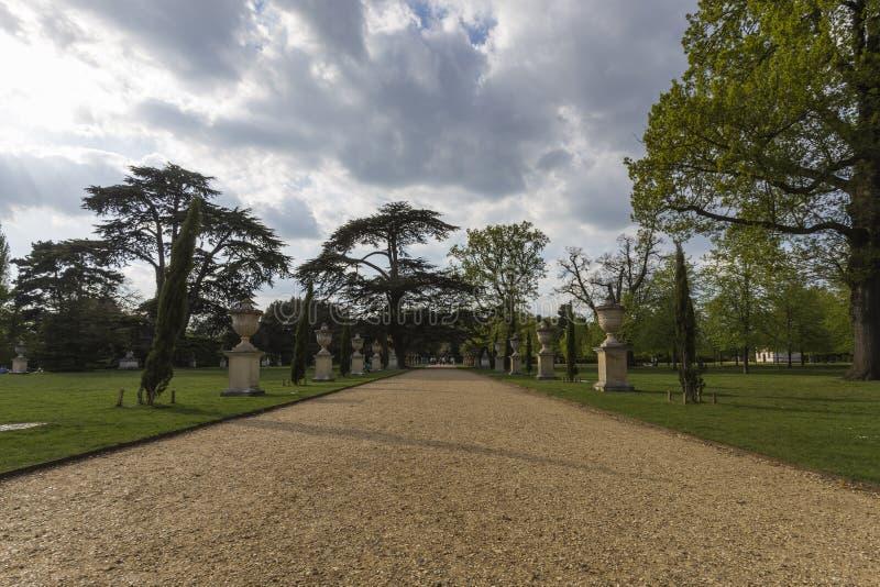 Chiswick trädgårdar royaltyfria foton