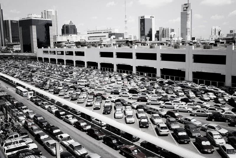 Chit del MES del estacionamiento imagenes de archivo