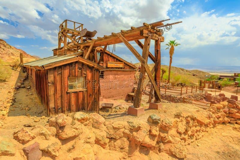 Chita da cidade da mineração imagens de stock royalty free