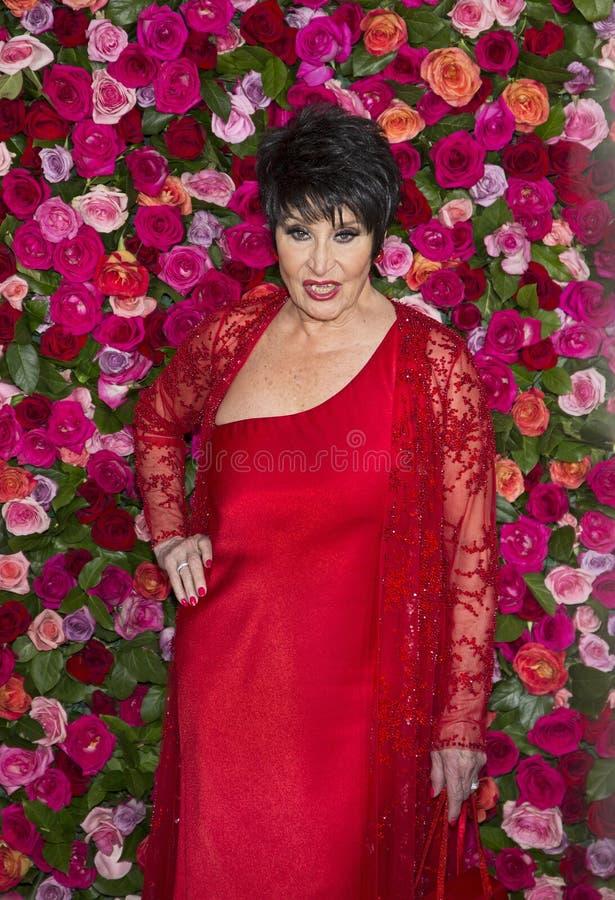 Chita Rivera en Tony Awards 2018 fotografía de archivo