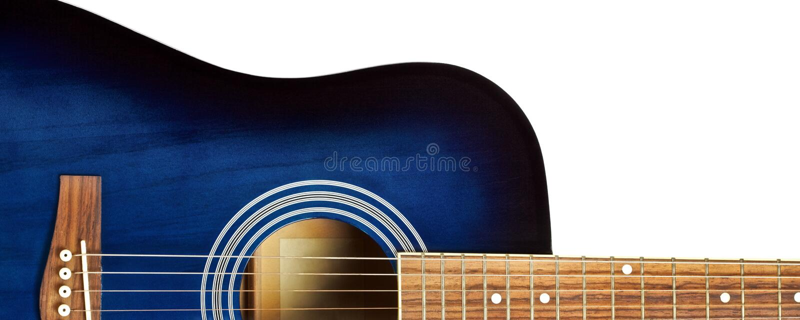 Chitarra acustica fotografia stock libera da diritti