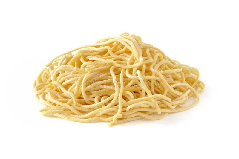 Chitarra d'alla de spaghetti, pâtes italiennes fraîches photo libre de droits