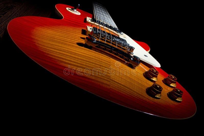 Chitarra di Les Paul immagini stock libere da diritti