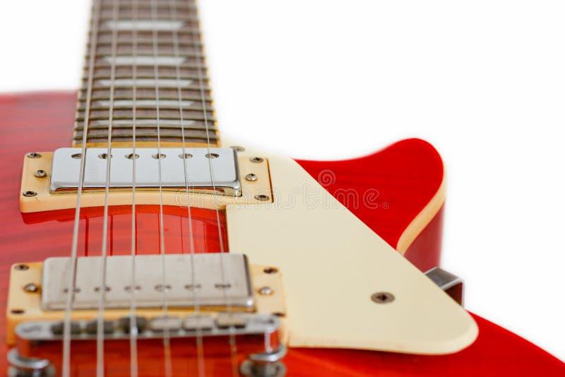 Chitarra di Les Paul fotografie stock libere da diritti