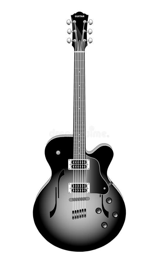 Chitarra elettrica illustrazione vettoriale