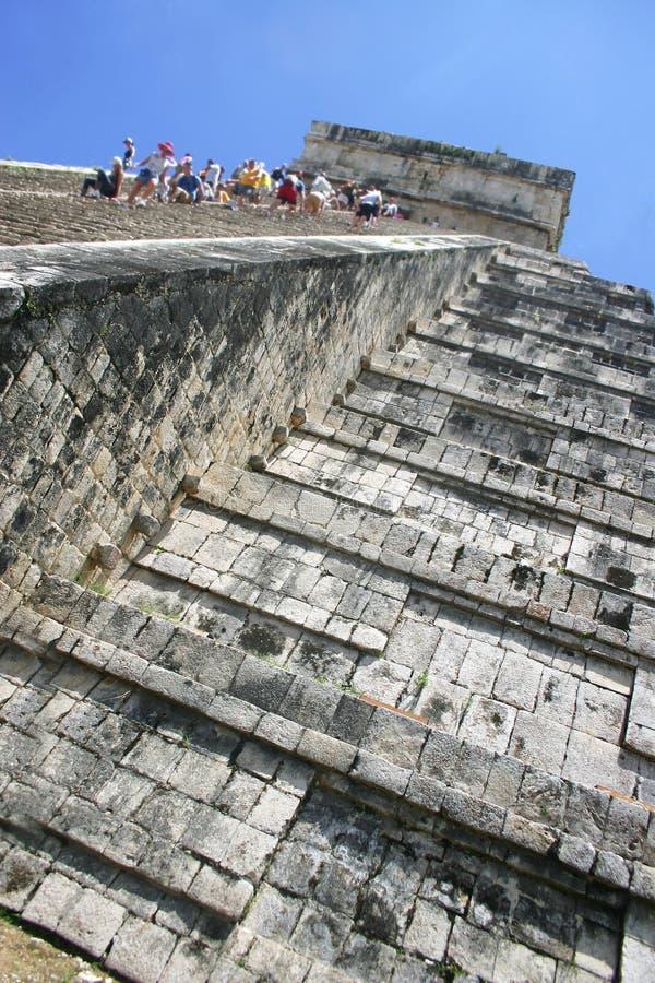 Download Chitchen klättringitzaen arkivfoto. Bild av fördärva, monument - 249732
