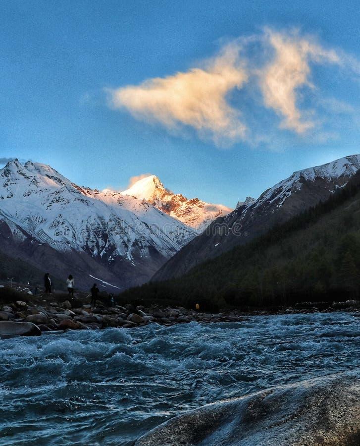 Chitkul, Himachal Pradesh στοκ εικόνες