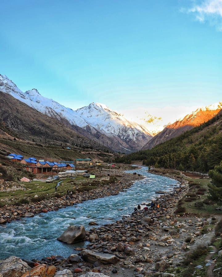 Chitkul, Himachal Pradesh στοκ φωτογραφία
