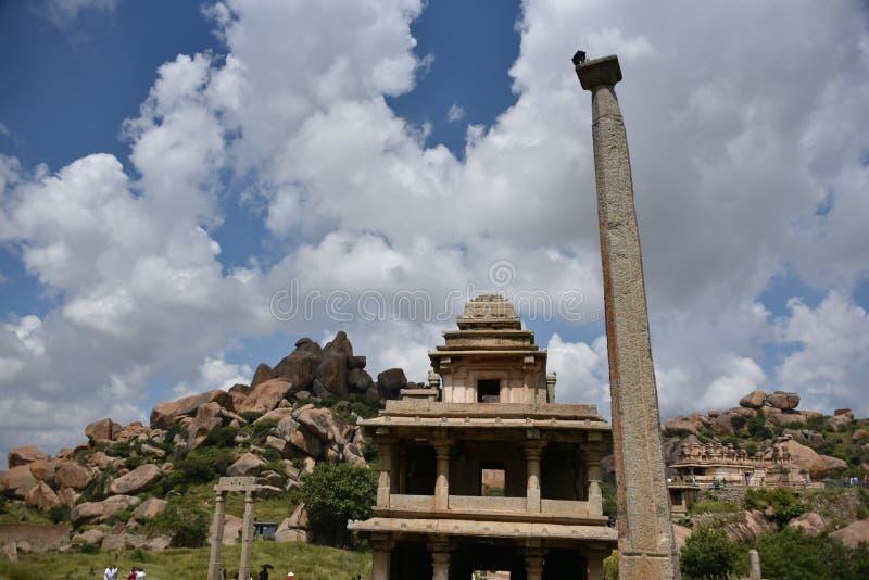 Chitradurga fortu zabytki i ruiny, Karnataka obraz royalty free