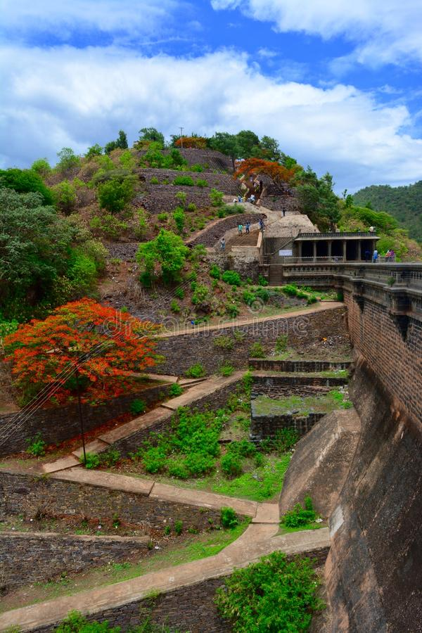 Chitradurga krajobraz fotografia royalty free