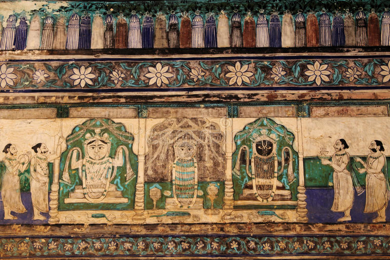 Chitrasala - Bundi - il Ragiastan immagine stock