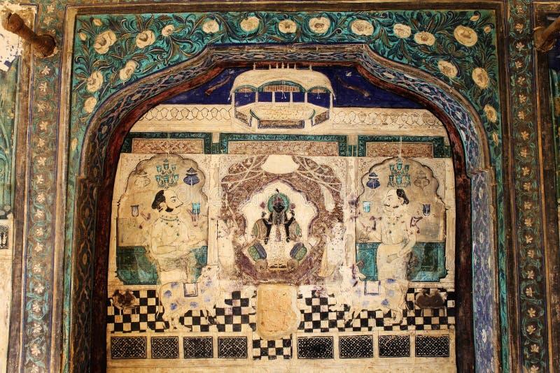 Chitrasala - Bundi - Rajasthan royaltyfria foton