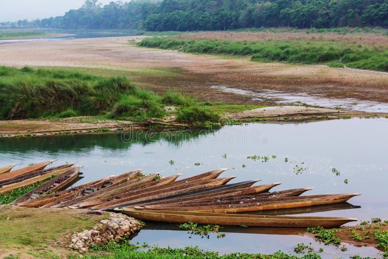 Chitwan arkivbild