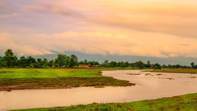 Chitwan en Nepal imagen de archivo