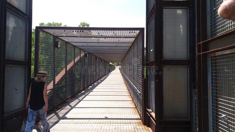Chiuda il ponte a chiave immagine stock libera da diritti