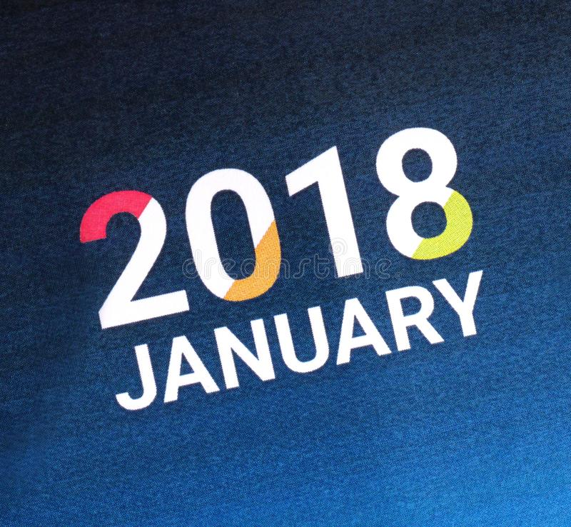 Chiuda su del gennaio 2018 fotografie stock libere da diritti