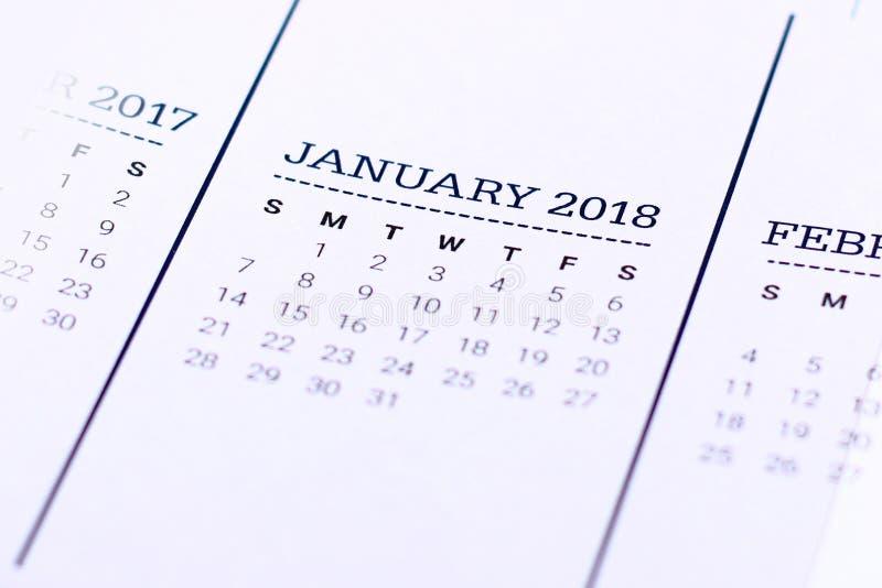 Chiuda su del gennaio 2018 fotografia stock libera da diritti