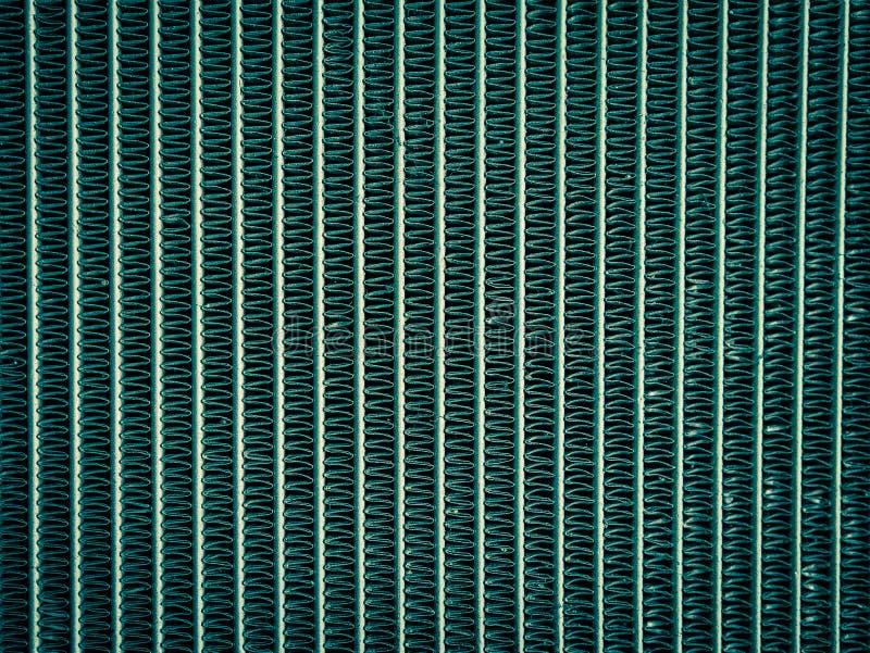 Chiuda su del radiatore nello stile trattato trasversale, fondo immagine stock libera da diritti