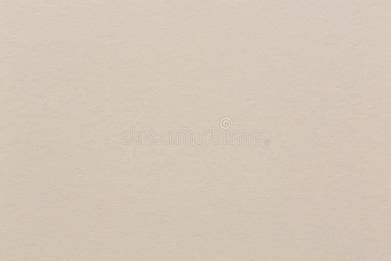 Chiuda su della carta beige dell'acquerello per uso del fondo fotografia stock libera da diritti
