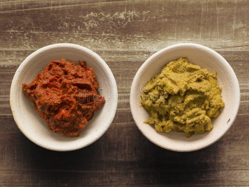 Colla indiana del curry immagini stock