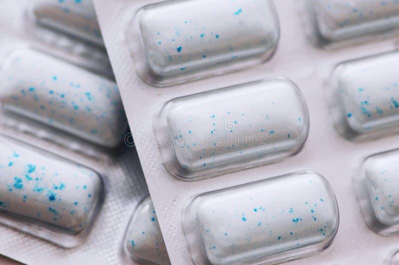 Chiuda in su delle pillole fotografia stock libera da diritti