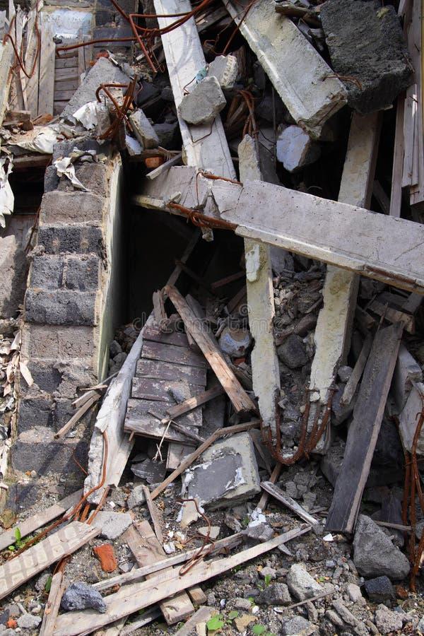 Chiuda su delle rovine fotografia stock