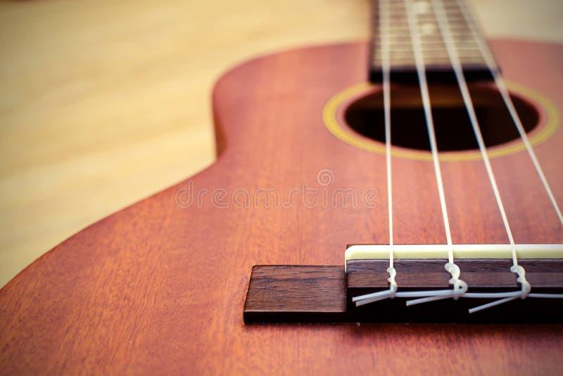 Chiuda su delle ukulele fotografia stock