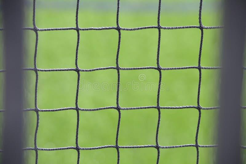 Chiuda su di rete con fondo verde fotografia stock