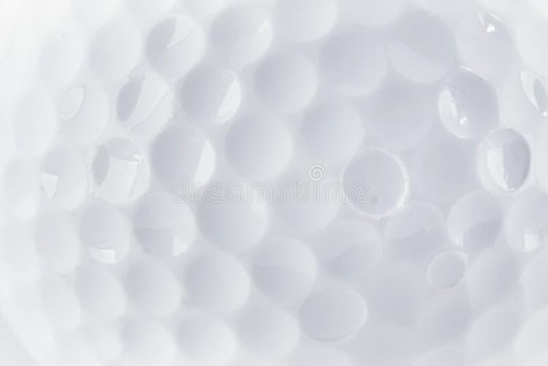 Chiuda su di una struttura della palla da golf immagine stock libera da diritti